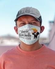 Fantastic mas Dentist - Dentists Cloth Face Mask - 3 Pack aos-face-mask-lifestyle-06