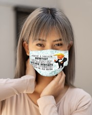 Fantastic mas Dentist - Dentists Cloth Face Mask - 3 Pack aos-face-mask-lifestyle-18