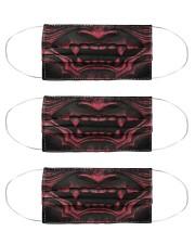 samurai mask  Cloth Face Mask - 3 Pack front