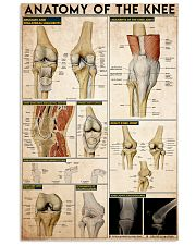 knee-anatomy 11x17 Poster front