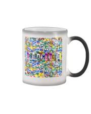 plate mask ophthalmologist  Color Changing Mug thumbnail