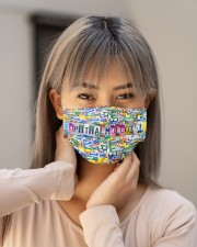 plate mask ophthalmologist  Cloth Face Mask - 3 Pack aos-face-mask-lifestyle-18