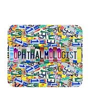 plate mask ophthalmologist  Mousepad thumbnail