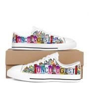 shoe plate oncologist Women's Low Top White Shoes thumbnail