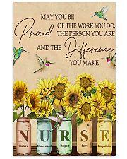 nurse proud 11x17 Poster front