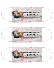 squad mask oncologist Cloth Face Mask - 3 Pack front