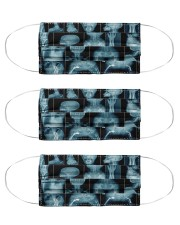 rad xray mask Cloth Face Mask - 3 Pack front