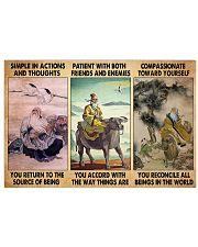 Taoism 3 treasure dvhd-pml Horizontal Poster tile
