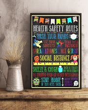 School nurse social 11x17 Poster lifestyle-poster-3