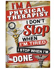 stop done PT 11x17 Poster front