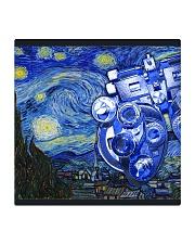 starry phoropter mask Square Coaster tile