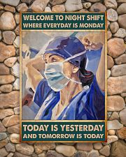 nurse night shift poster 24x36 Poster poster-portrait-24x36-lifestyle-15