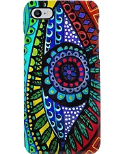 eye-abstract Phone Case i-phone-8-case