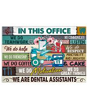 this-office-dental-assistant 17x11 Poster front