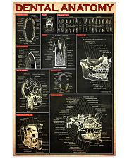 Dental anatomy rd 24x36 Poster front