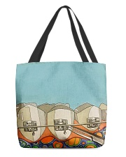 Teeth abstract 3 tote All-over Tote back