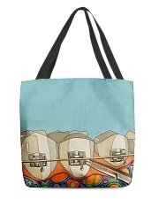 Teeth abstract 3 tote All-over Tote front