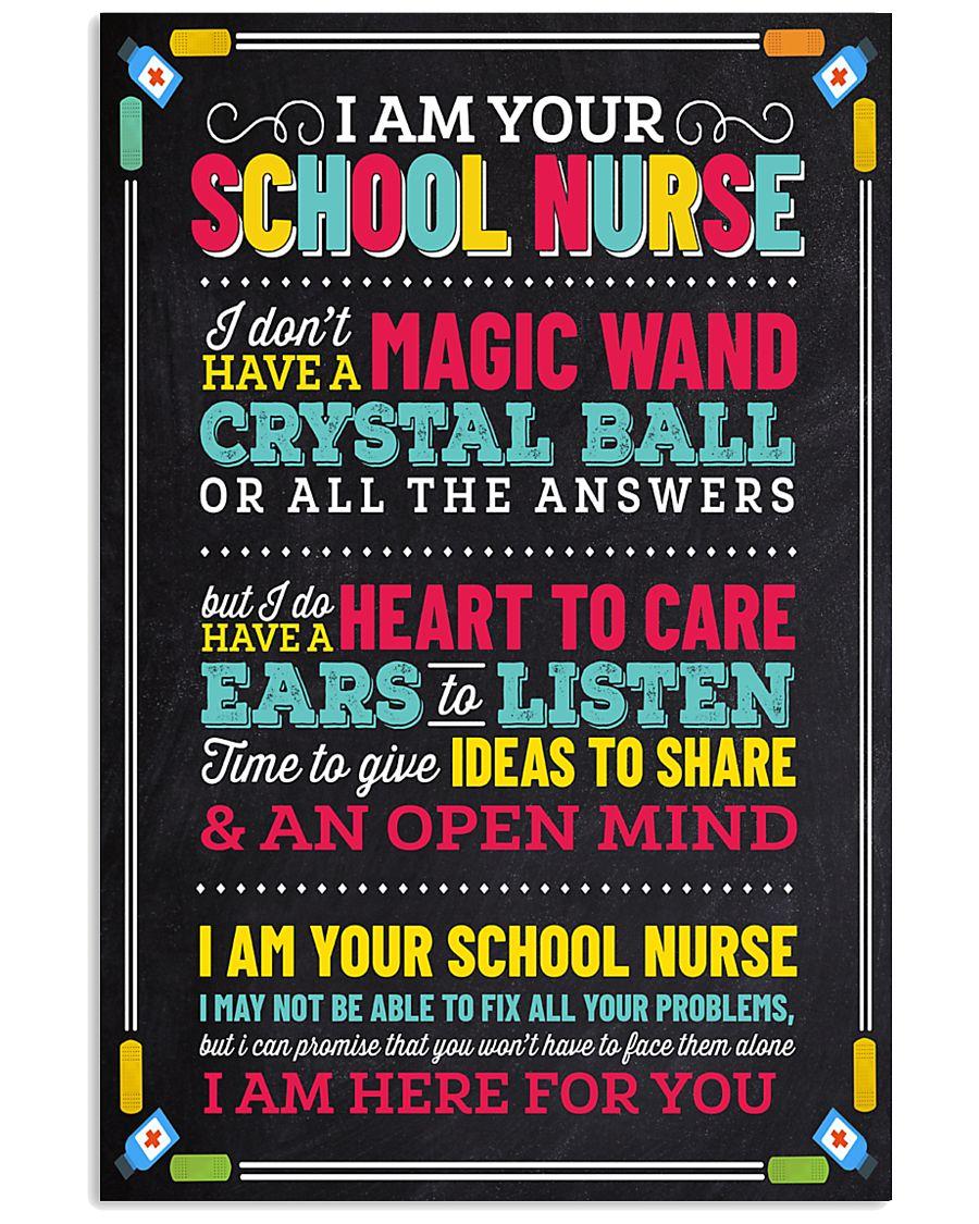 school-nurse-crystalball 11x17 Poster