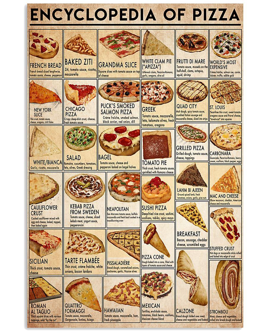 pizza-encl 24x36 Poster