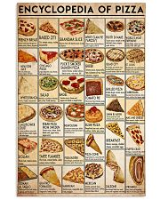 pizza-encl 24x36 Poster front