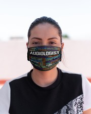 Audiologist typo mas Cloth Face Mask - 3 Pack aos-face-mask-lifestyle-03
