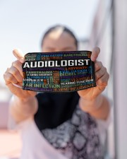 Audiologist typo mas Cloth Face Mask - 3 Pack aos-face-mask-lifestyle-07