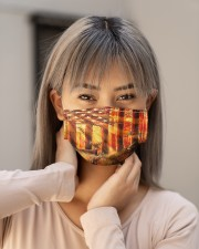 forest flag deer Cloth Face Mask - 3 Pack aos-face-mask-lifestyle-18