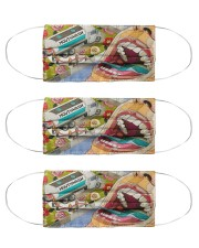 dental abstract 2506 4 Cloth Face Mask - 3 Pack front
