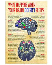 brain not sleep 24x36 Poster front