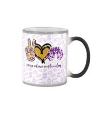 peace glit opto metry mas Color Changing Mug thumbnail