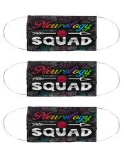 squad bl mask squad neurology Cloth Face Mask - 3 Pack front