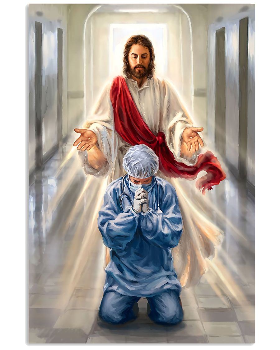 jesus bless our healthcare heroes 11x17 Poster