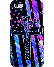 nurse flag neon phonecase Phone Case i-phone-8-case