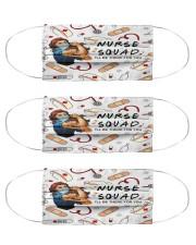 mas squad nurse Cloth Face Mask - 3 Pack front