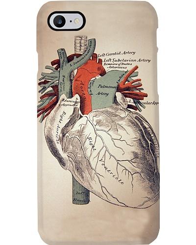 heart vintage case