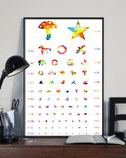 Pediatric Ophthalmology check 24x36 Poster lifestyle-poster-2