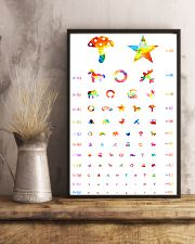 Pediatric Ophthalmology check 24x36 Poster lifestyle-poster-3
