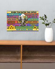 school nurse office elephant  17x11 Poster poster-landscape-17x11-lifestyle-24