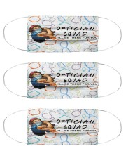 squad mask optician Cloth Face Mask - 3 Pack front