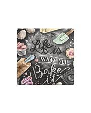 life bake case  Square Magnet thumbnail