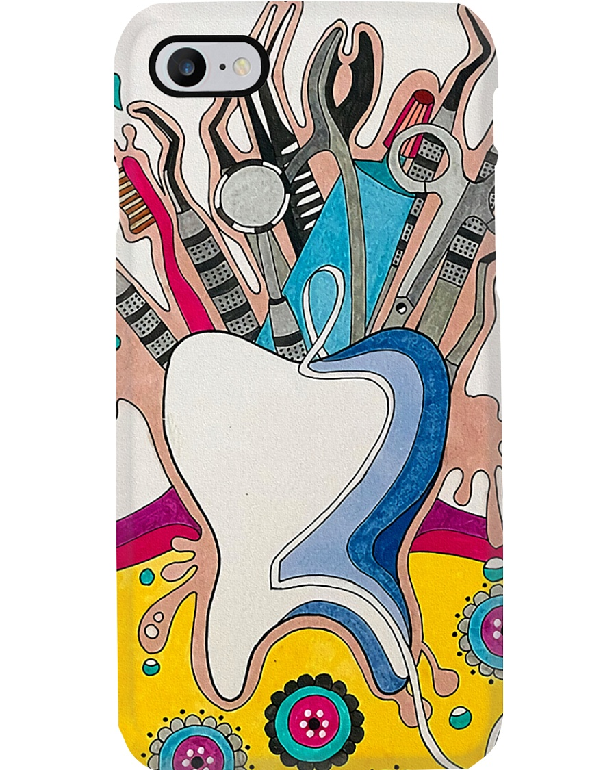 dental-abstract 0905 7 Phone Case