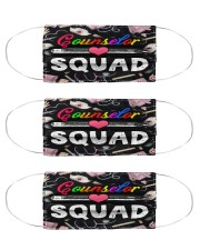 squad bl mask counselor squad  Cloth Face Mask - 3 Pack front