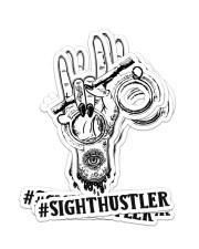 Sticker Hustler Sight Sticker - 4 pack (Vertical) front