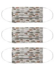 mask pattern neurologist Cloth Face Mask - 3 Pack front
