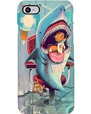 dentist shark Phone Case i-phone-8-case