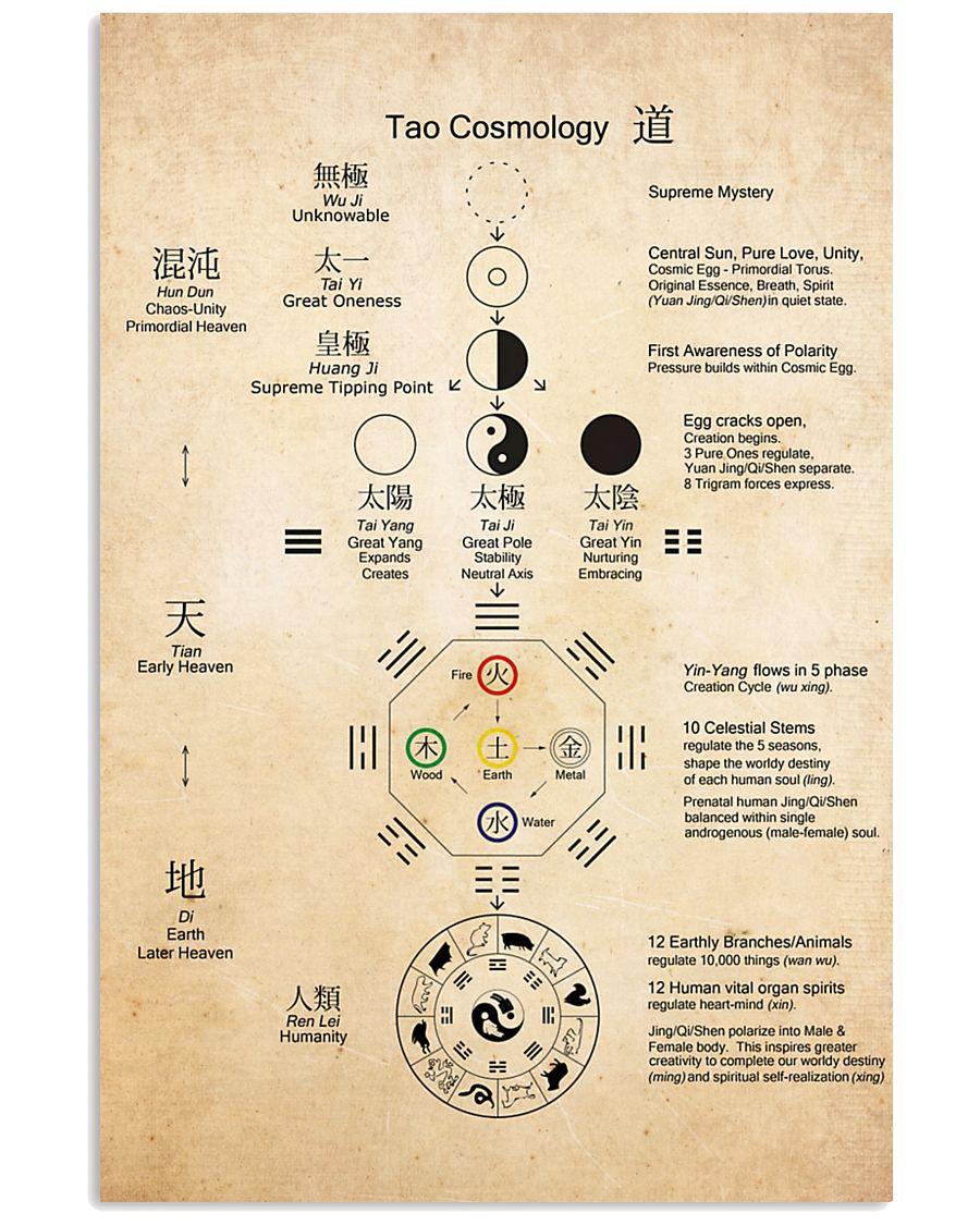 taoist cosmology  24x36 Poster