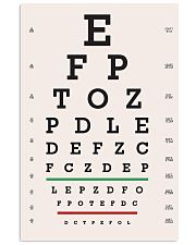 eye-chart ep 24x36 Poster front