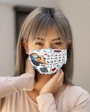 mas squad staff nurse Cloth Face Mask - 3 Pack aos-face-mask-lifestyle-18