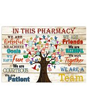 in this pharmacy 17x11 Poster front