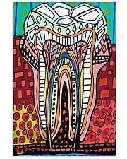 teeth abstract  1 11x17 Poster front